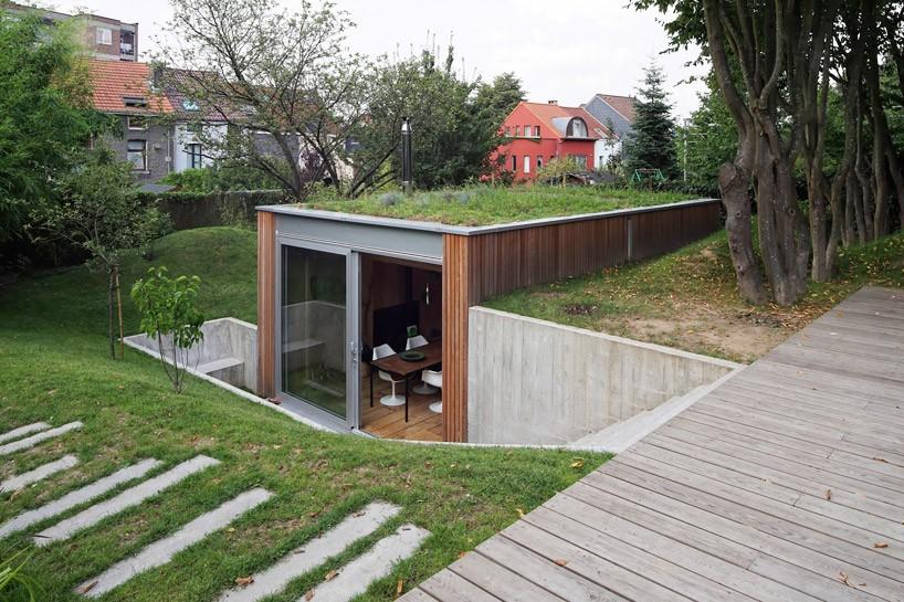 dream workspace in the garden by lescaut architects 2 Dream Workspace In The Garden By L'escaut Architects