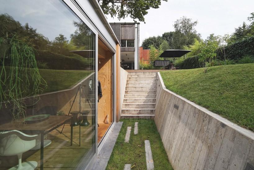 dream workspace in the garden by lescaut architects 7 Dream Workspace In The Garden By L'escaut Architects