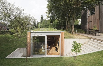 Dream Workspace In The Garden By L'escaut Architects