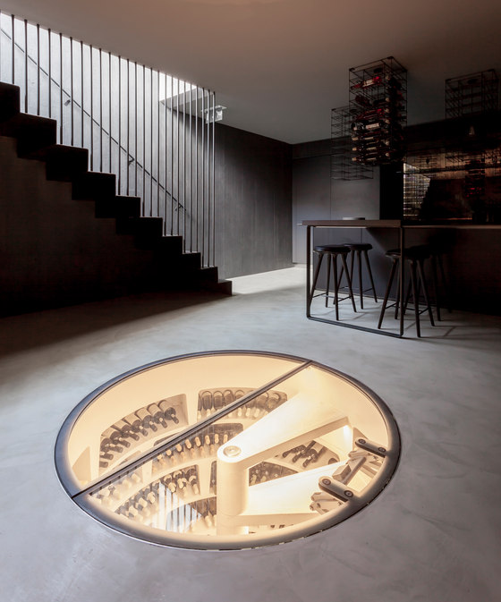 modern wine cellar1 How to Store Wine in Your Home