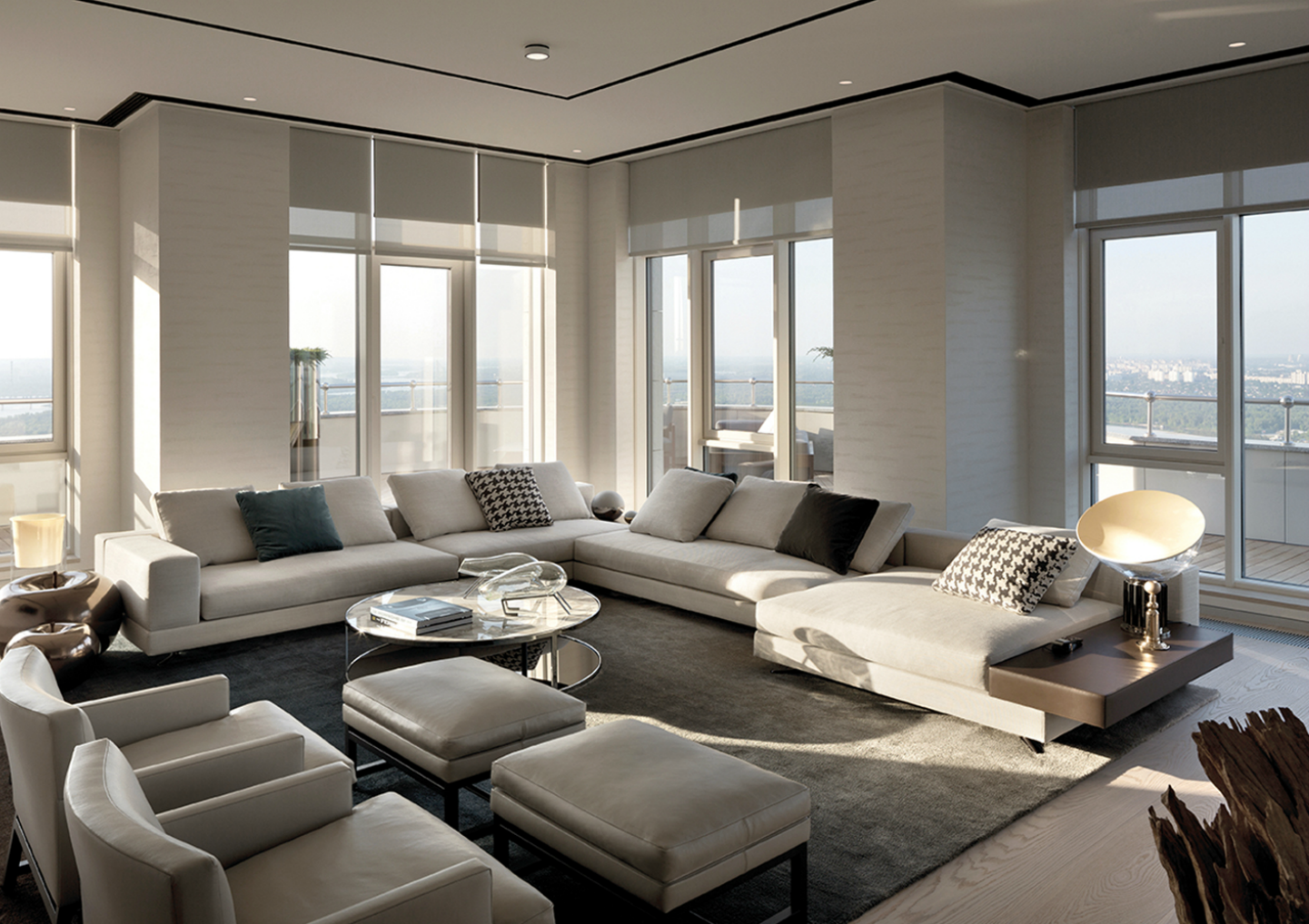 serene kiev penthouse 14 A Luxurious and Exquisite Kiev Penthouse