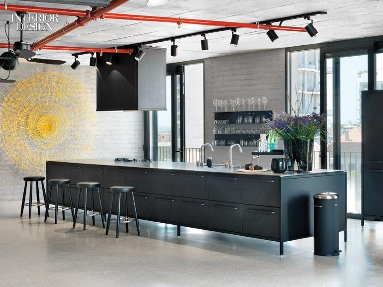 tel aviv apartment Open plan Industrial Apartment in Tel Aviv