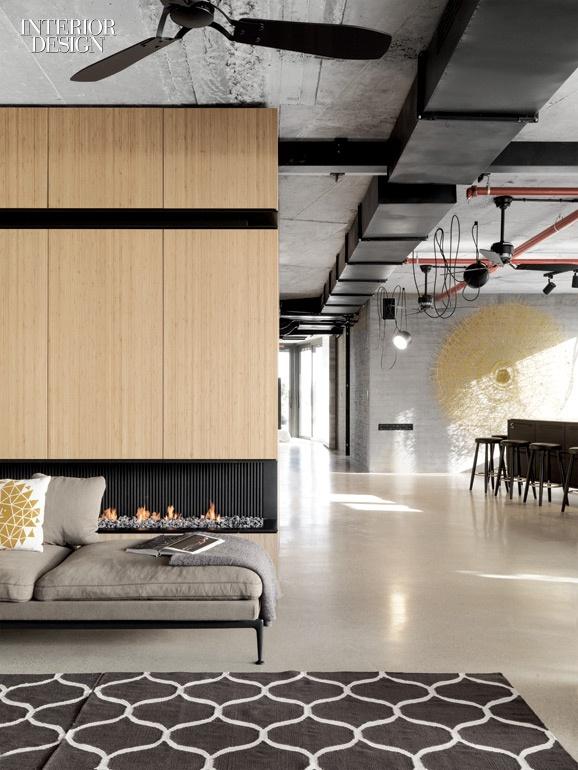 Open-plan Industrial Apartment in Tel Aviv