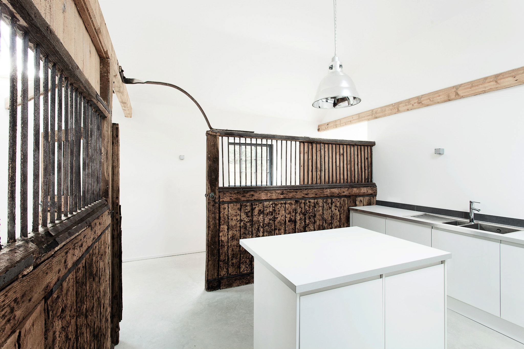 the stables by ar design studio10 Old Stables Turned into Contemporary Home