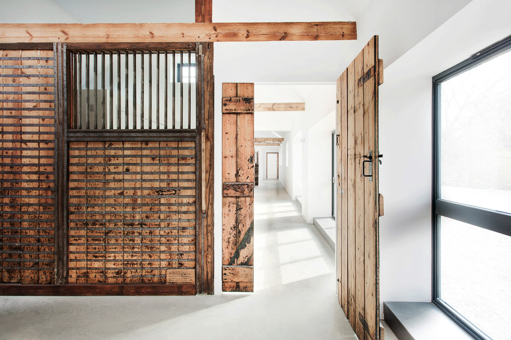the stables by ar design studio9 Old Stables Turned into Contemporary Home