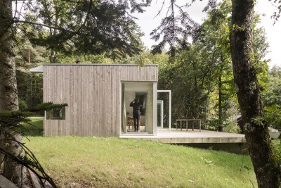 a Single Volume Timber House in North-Western France Designed by Atelier Mima