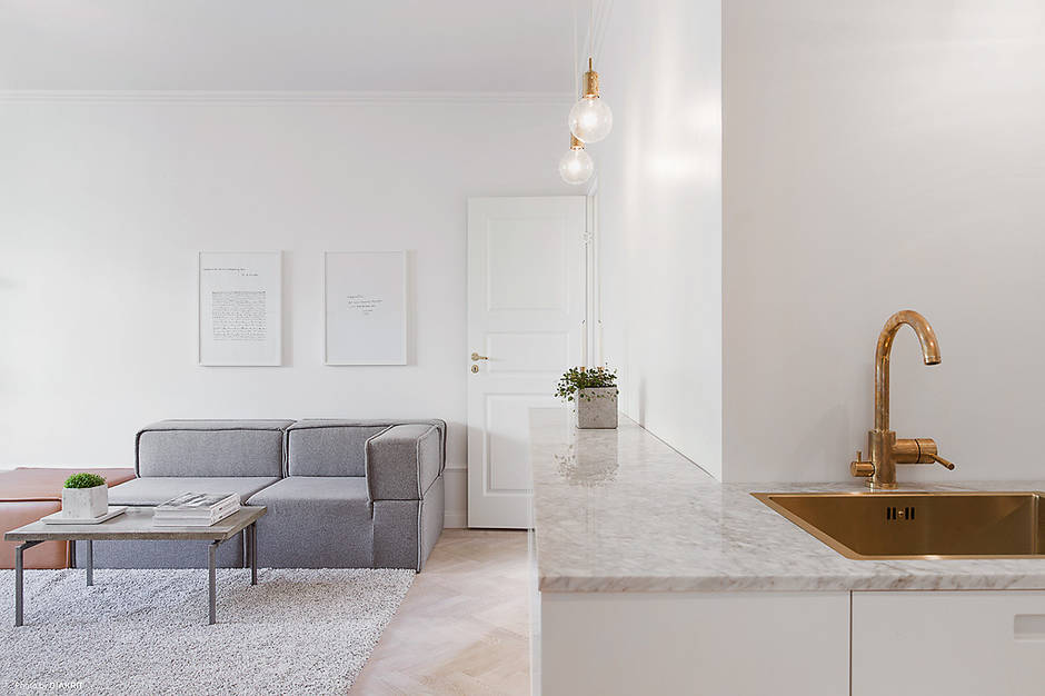 Small Space Budget Ideas in a Nordic Apartment