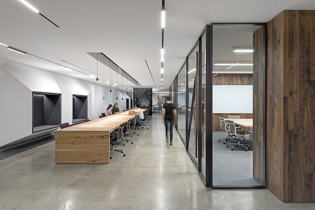 uber office 2 Uber Office Design by Studio O+A
