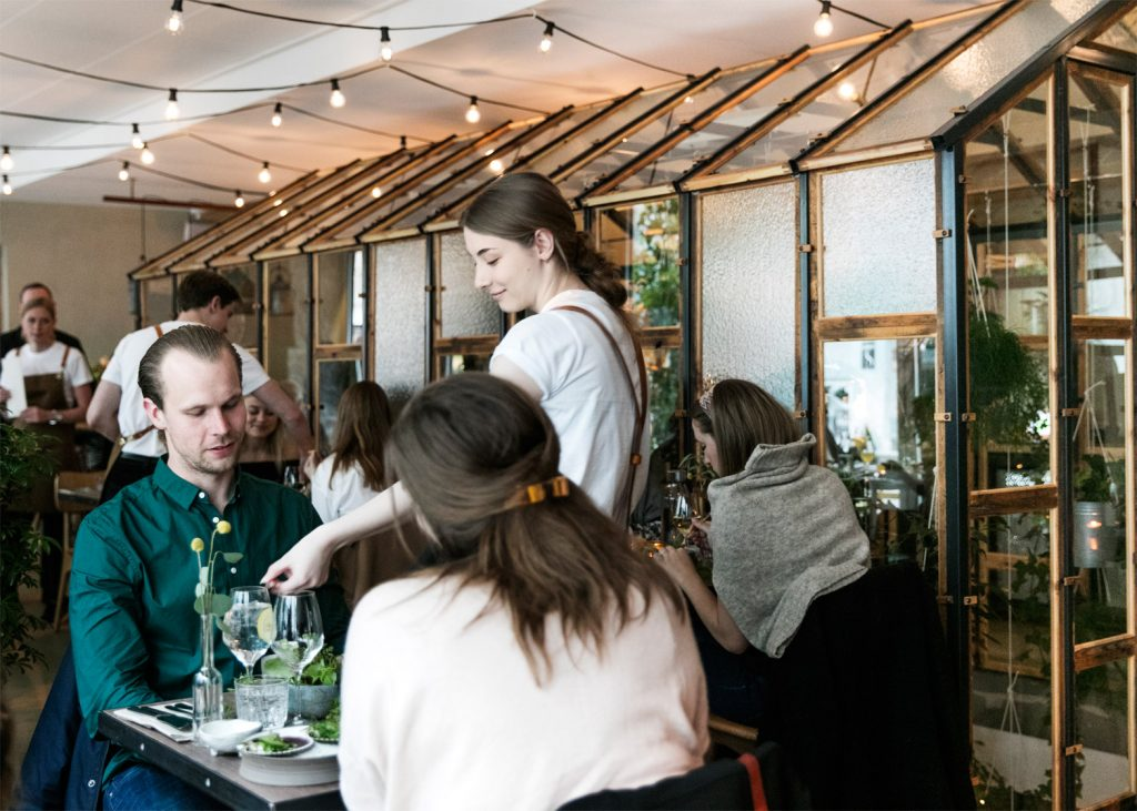danish design studio creates an indoor garden for a restaurant 3 1024x731 Danish Design Studio Creates an Indoor Garden For a Restaurant