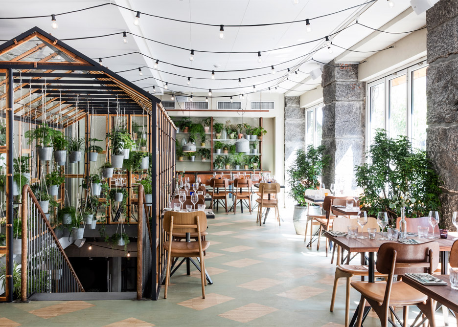 danish design studio creates an indoor garden for a restaurant 7 Danish Design Studio Creates an Indoor Garden For a Restaurant