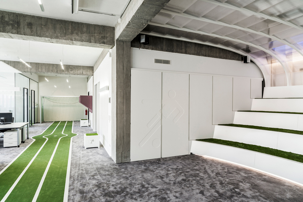 feel like for a game  onefootballs office by tkez architects 4 Feel like for a game? ONEFOOTBALLS office by TKEZ ARCHITECTS