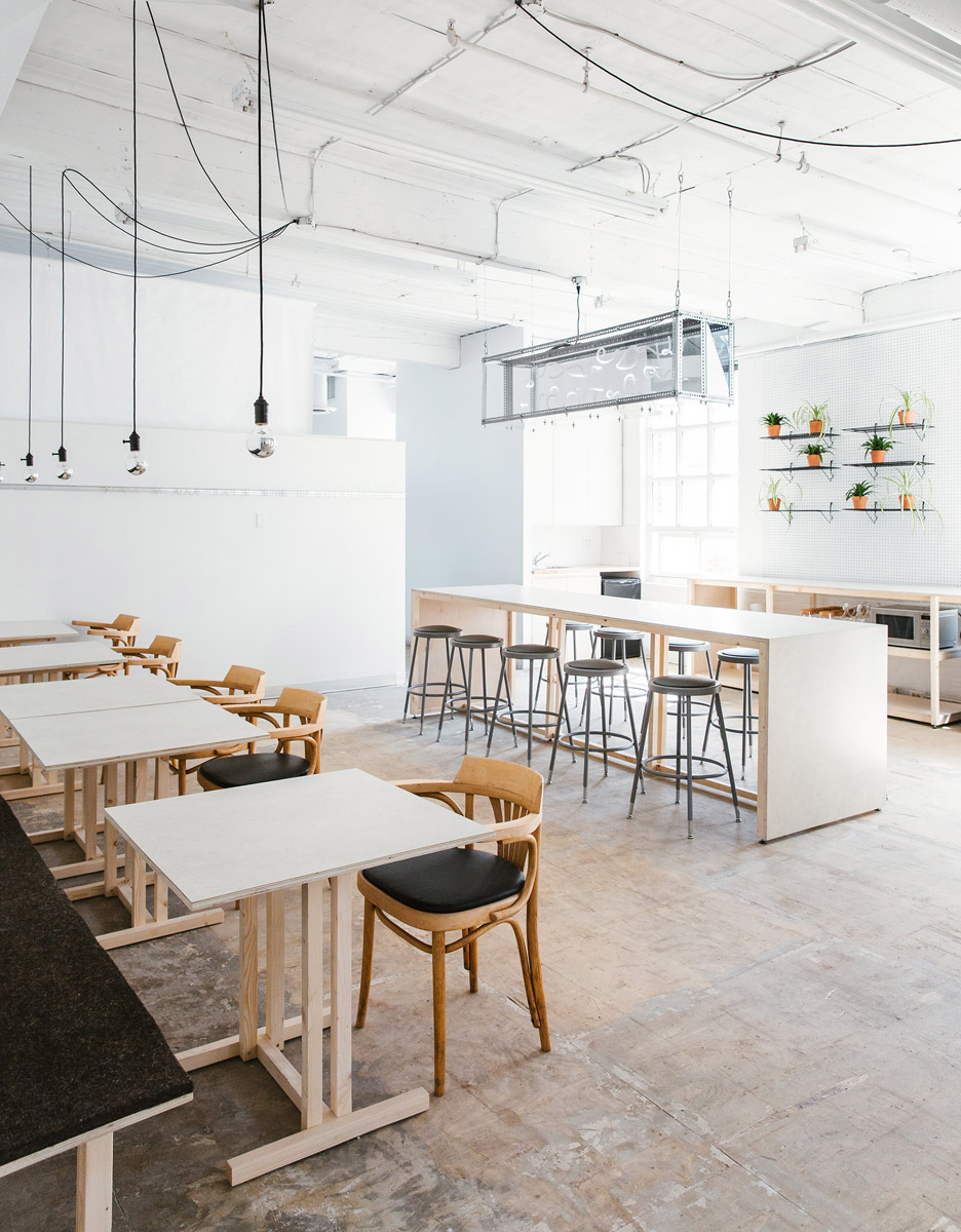 an Old Factory in Toronto was Transformed into a Modern Workspace