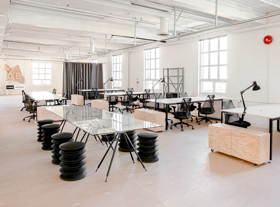 an old factory in toronto was transformed into a modern workspace 5 an Old Factory in Toronto was Transformed into a Modern Workspace