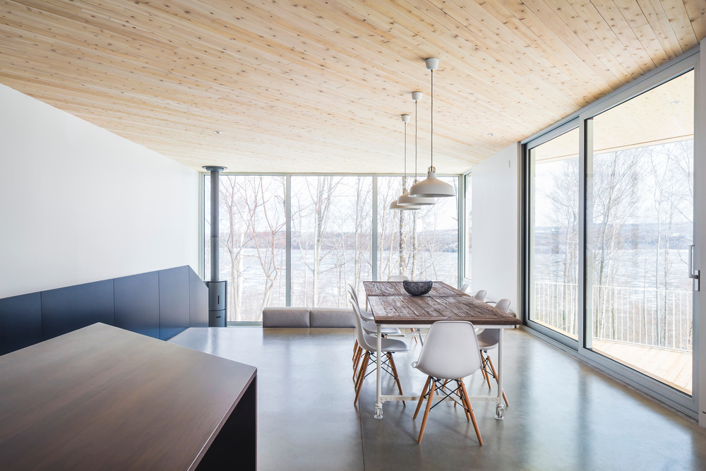 nook residence by mu architecture blends with winter landscape 17 Nook Residence by MU Architecture Blends with Winter Landscape