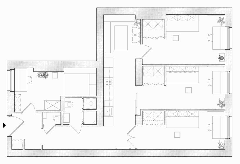 stylish student accommodation in poznan by agnieszka owsiany 11 Stylish Student Accommodation in Poznan by Agnieszka Owsiany