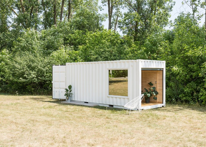 mobile boutique for luxury sportswear brand 1 TOP 10 Shipping Container Houses