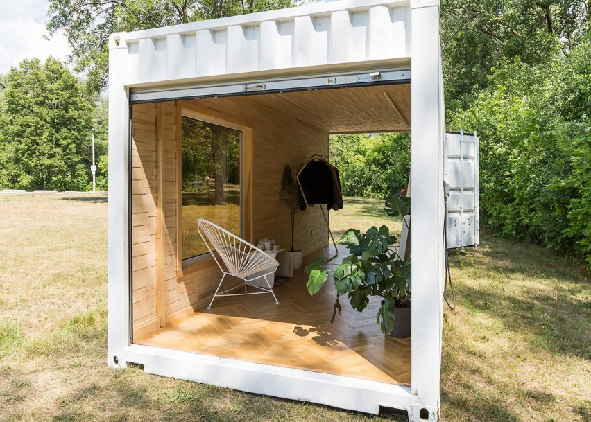 mobile boutique for luxury sportswear brand 2 TOP 10 Shipping Container Houses