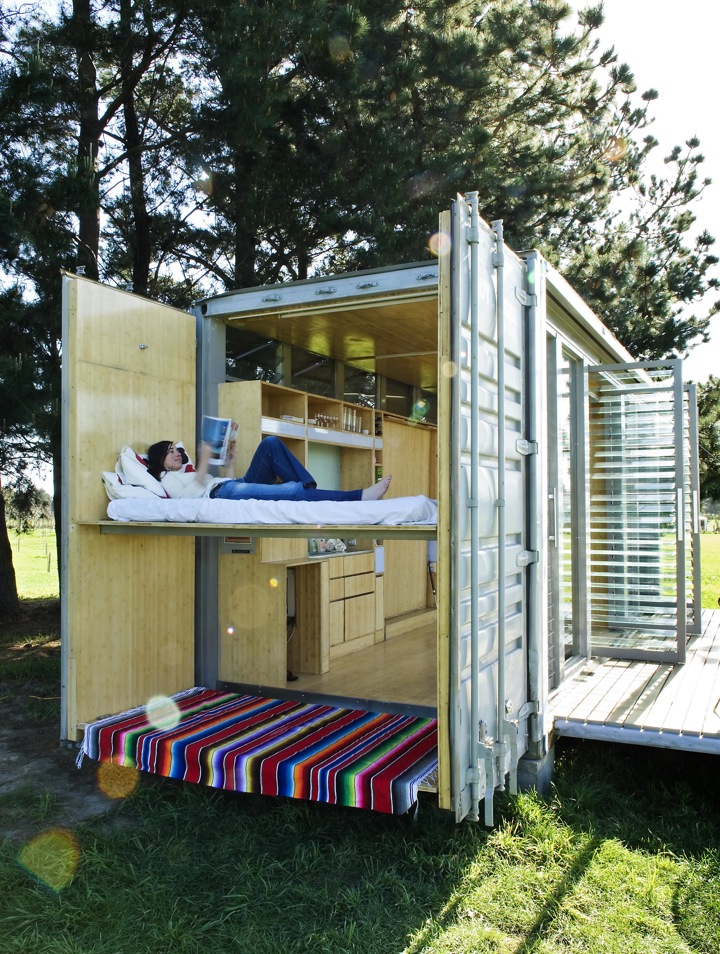 port a bach container home 3 TOP 10 Shipping Container Houses