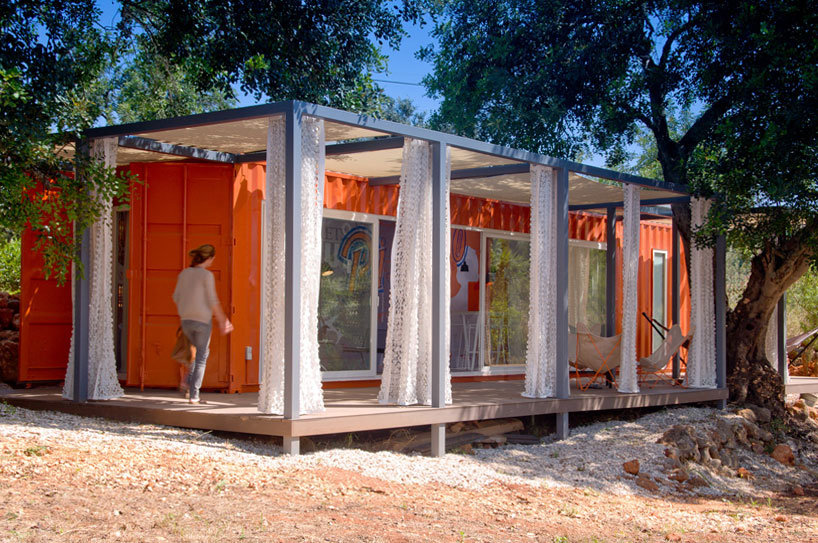 shipping container retreat for a nomad living 1 TOP 10 Shipping Container Houses