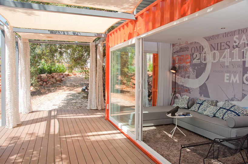 shipping container retreat for a nomad living 2 TOP 10 Shipping Container Houses