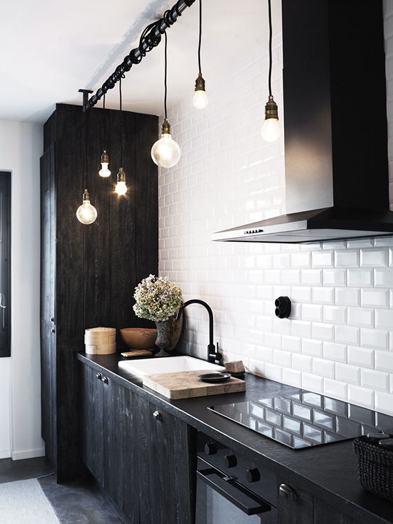 black kitchen Five Key Areas to Focus On Renovating Your Home