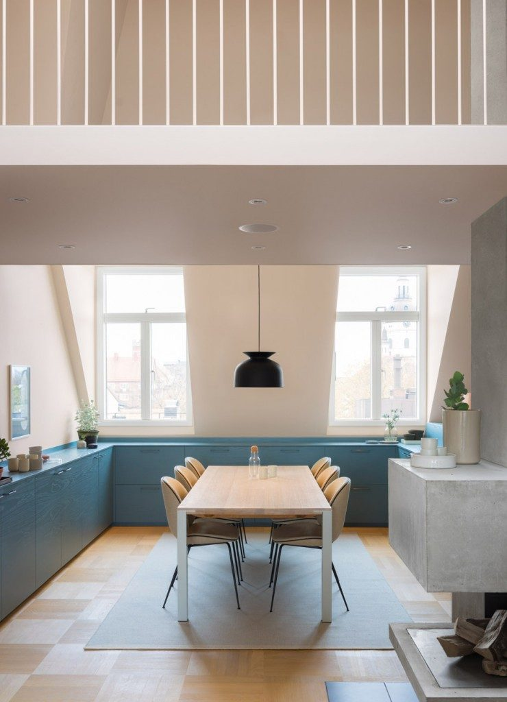 loft apartment kitchen 740x1024 Dream kitchens   a collection of 35 most beautiful kitchens