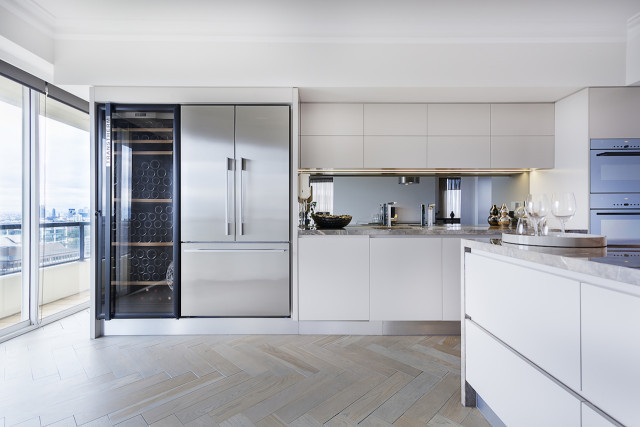 simple modern kitchen Dream kitchens   a collection of 35 most beautiful kitchens