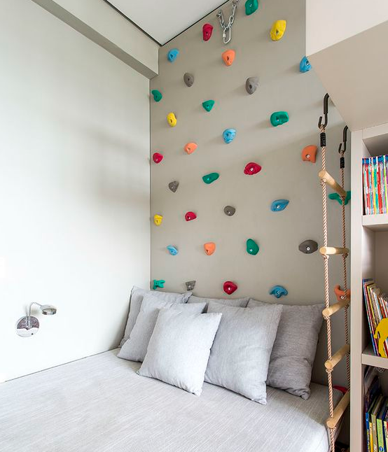 rock climbing wall idea 22 Awesome Rock Climbing Wall Ideas For Your Home