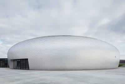Dolní Břežany Sports Hall by SPORADICAL architects