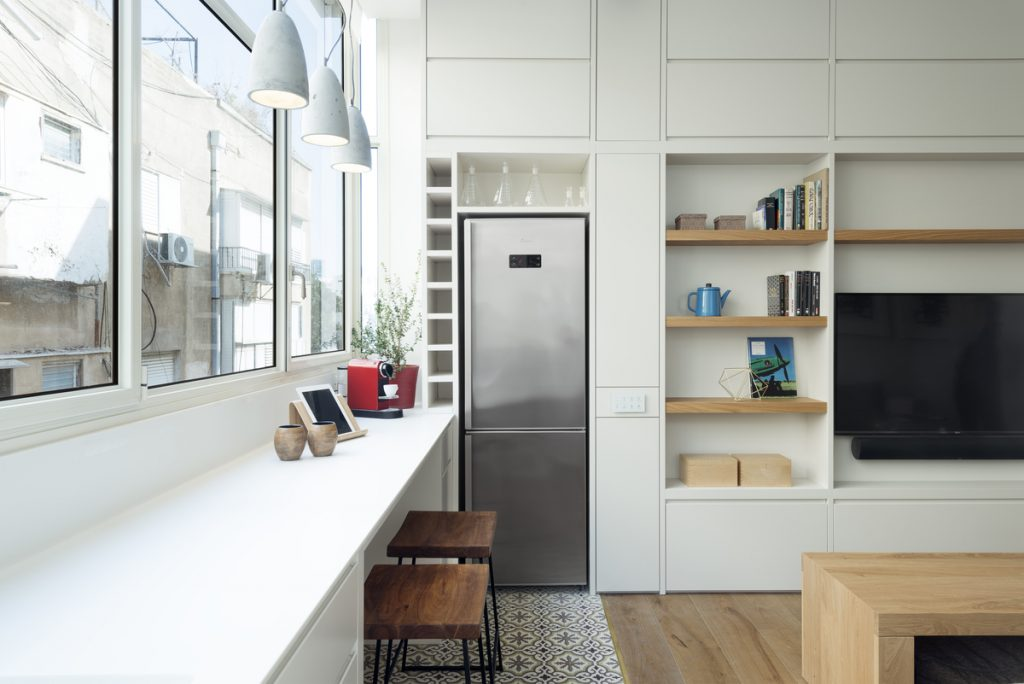 17032 kitchen 1024x684 59m² Apartment in Central Tel Aviv by XS Studio