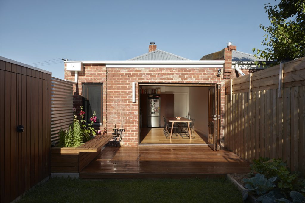 A Small Brick Home By Jos Tan Architects