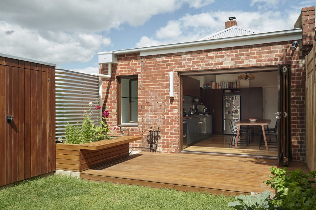 27210 tom ross 1024x683 A Small Brick Home By Jos Tan Architects