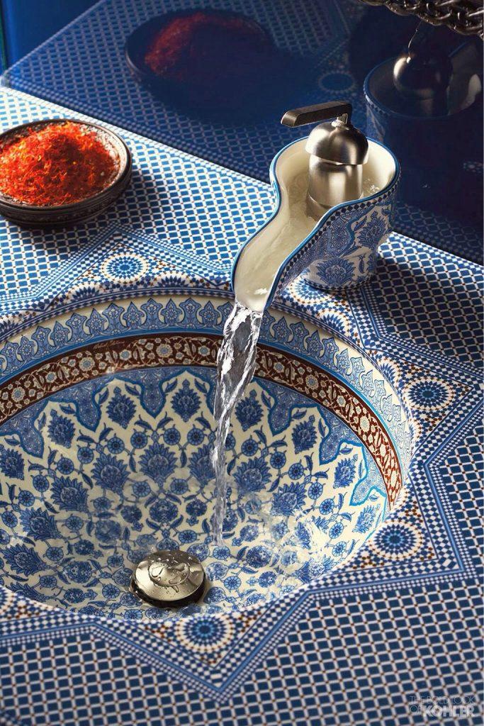 beautiful ceramic sink 683x1024 Interior Ideas to Transform Your Bathroom