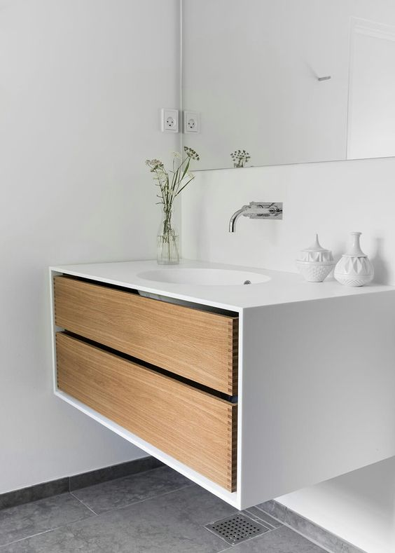 bespoke bathroom furniture from garde hvalsoe in oak wood How to Transform Your Bathroom into a Sanctuary