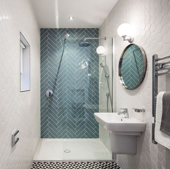 different tiles Interior Ideas to Transform Your Bathroom