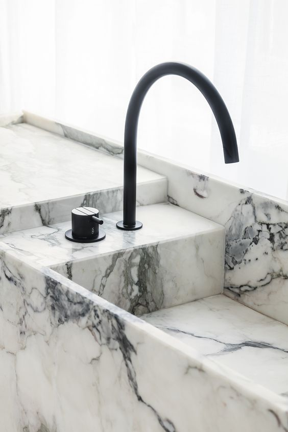 marble wash basin Interior Ideas to Transform Your Bathroom