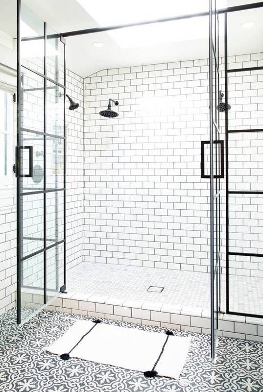 steel paned shower doors Interior Ideas to Transform Your Bathroom