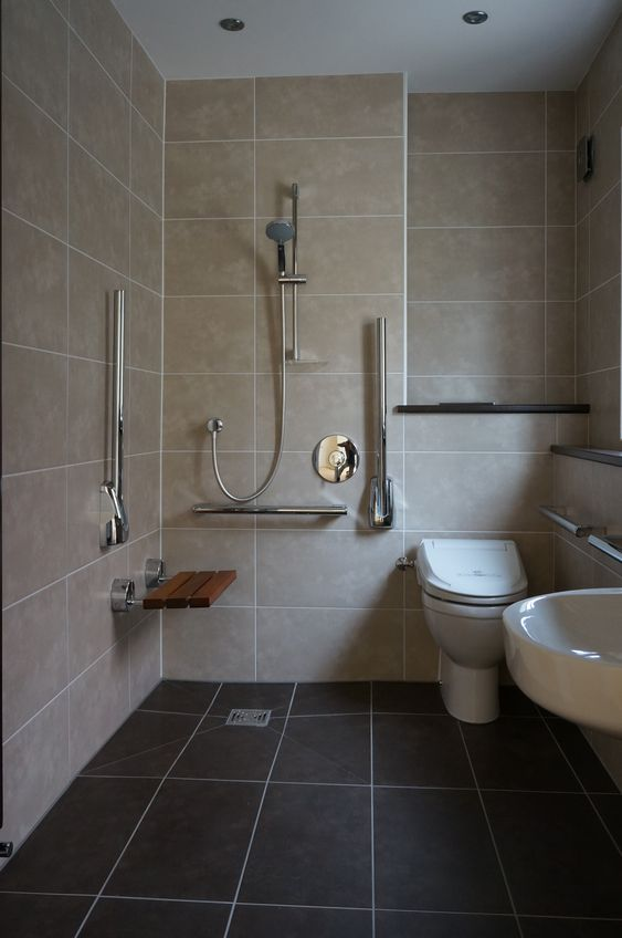 wet room shower with disabled access Disabled Bathroom: What are Your Options?