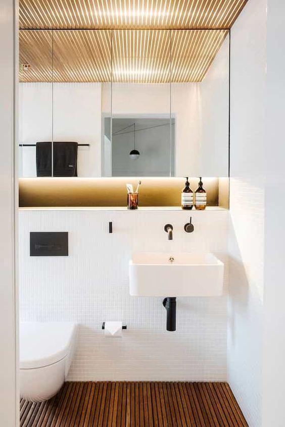 wooden bathroom floors How to Transform Your Bathroom into a Sanctuary