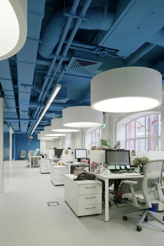 bright space interior office What Makes a Productive Office Space?