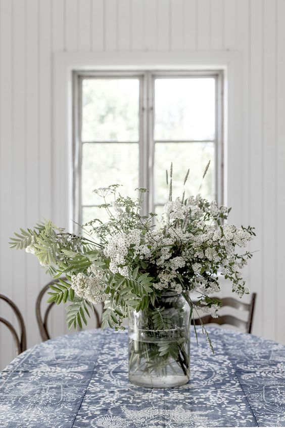 flowers on the table How To Bring Your Small Space Alive This Spring