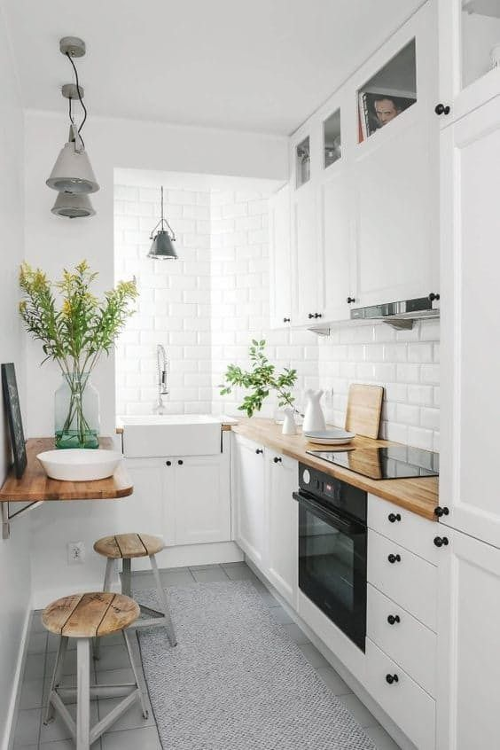small bright kitchen Tiny Room Ideas: Discover These 5 Ways How To Improve The Small Space
