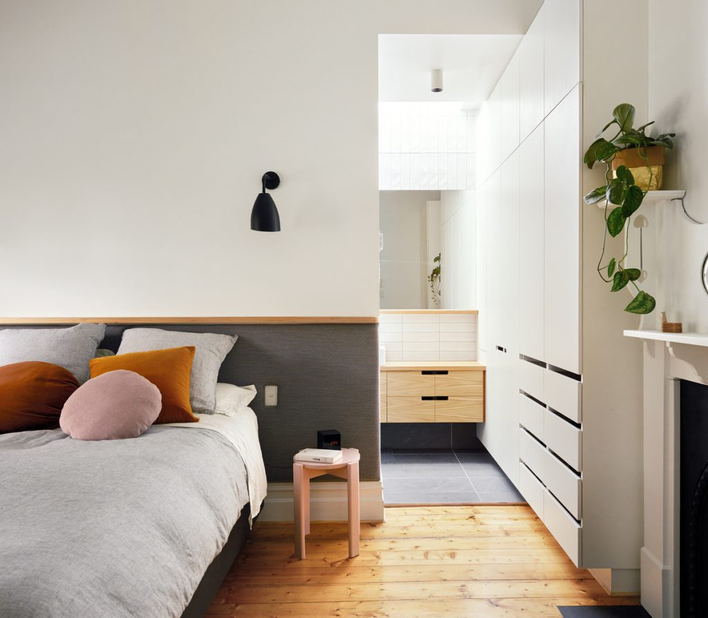 A Mini Addition Was Added To This Edwardian Weatherboard House