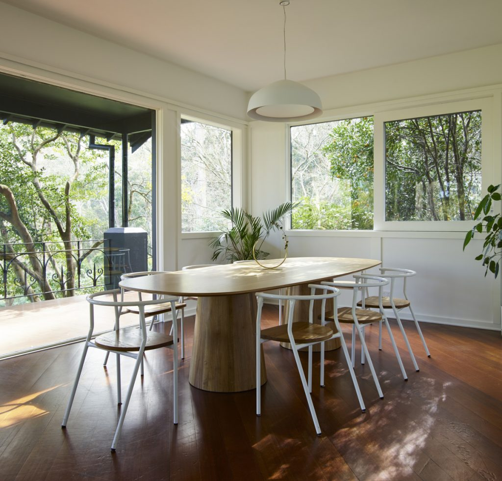 dining room 1024x980 1920s Melbourne Home Renovation By Drawing Room Architecture