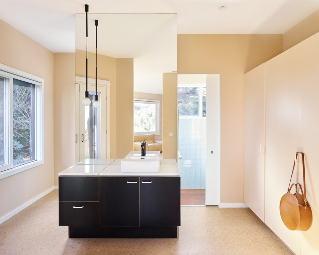 ensuite dressing 1024x819 1920s Melbourne Home Renovation By Drawing Room Architecture