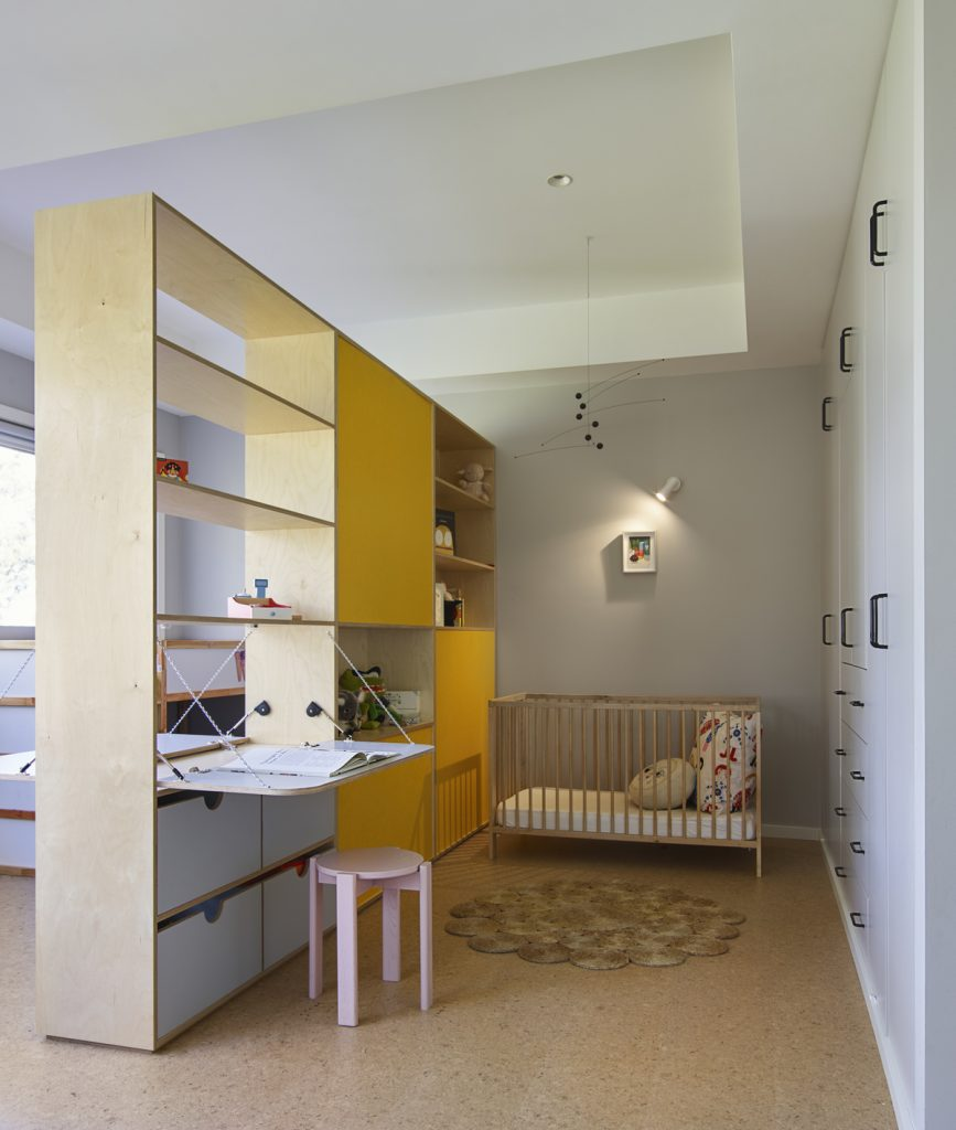 kids bedroom islee 867x1024 1920s Melbourne Home Renovation By Drawing Room Architecture