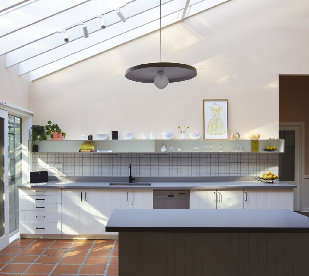kitchen meals 1024x916 1920s Melbourne Home Renovation By Drawing Room Architecture