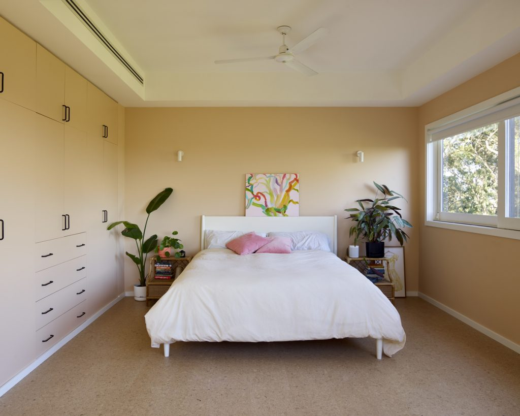 main bedroom 1024x819 1920s Melbourne Home Renovation By Drawing Room Architecture