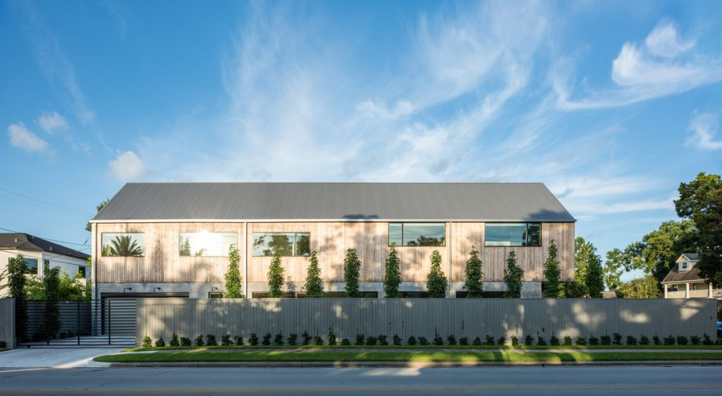 exteriod side full 1024x561 Family Headquarters by Viviano Viviano architecture