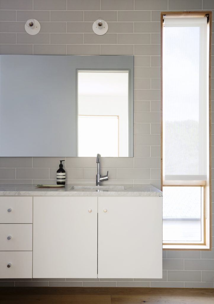 guest bathroom 723x1024 Family Headquarters by Viviano Viviano architecture